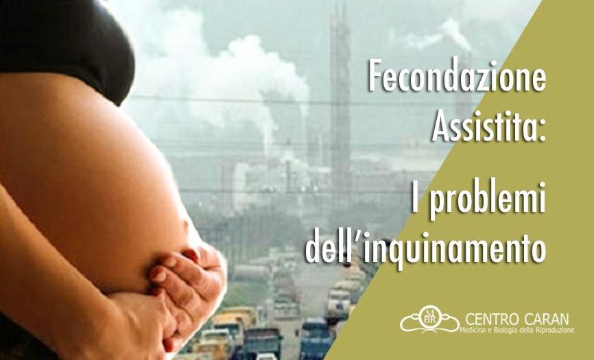 Fecondazione assistita: i problemi dell'inquinamento